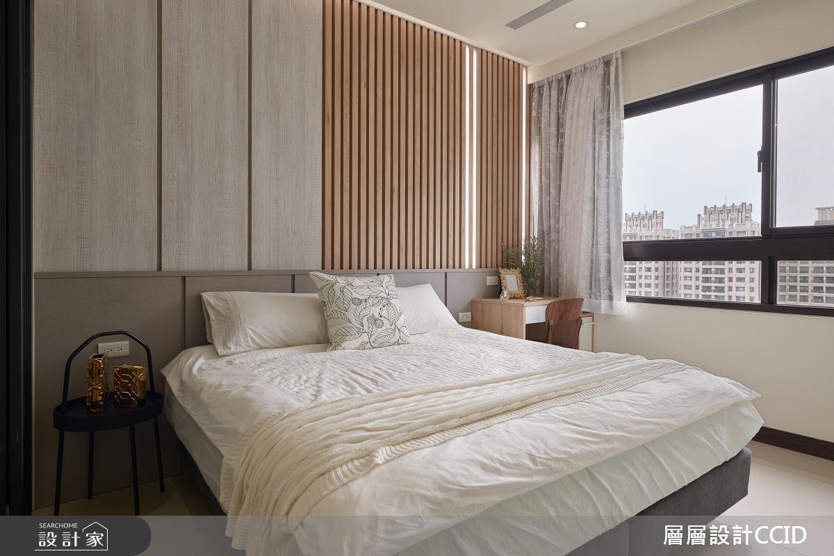 45坪新成屋(5年以下)_休閒風臥室案例圖片_層層室內裝修設計有限公司_層層_09之16