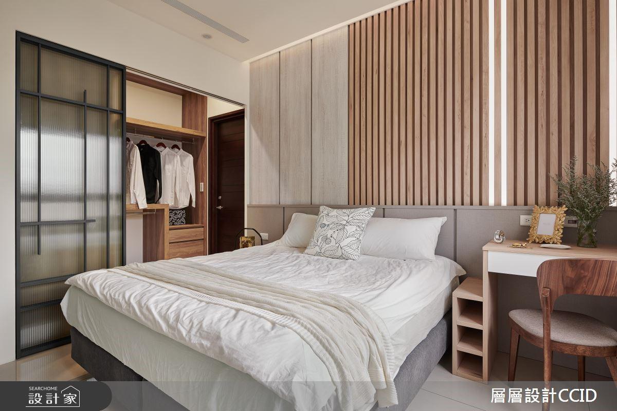 45坪新成屋(5年以下)_休閒風臥室案例圖片_層層室內裝修設計有限公司_層層_09之15