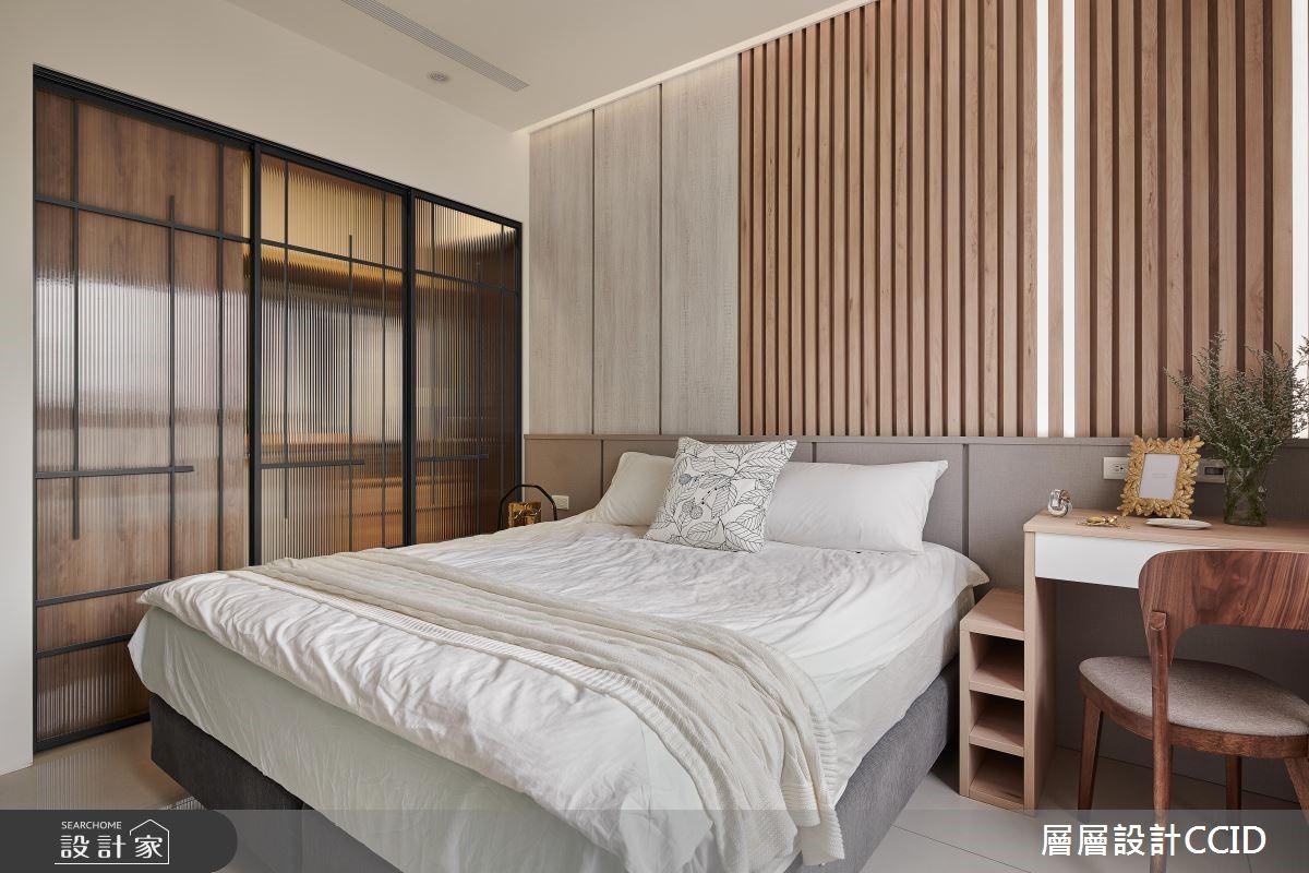 45坪新成屋(5年以下)_休閒風臥室案例圖片_層層室內裝修設計有限公司_層層_09之14