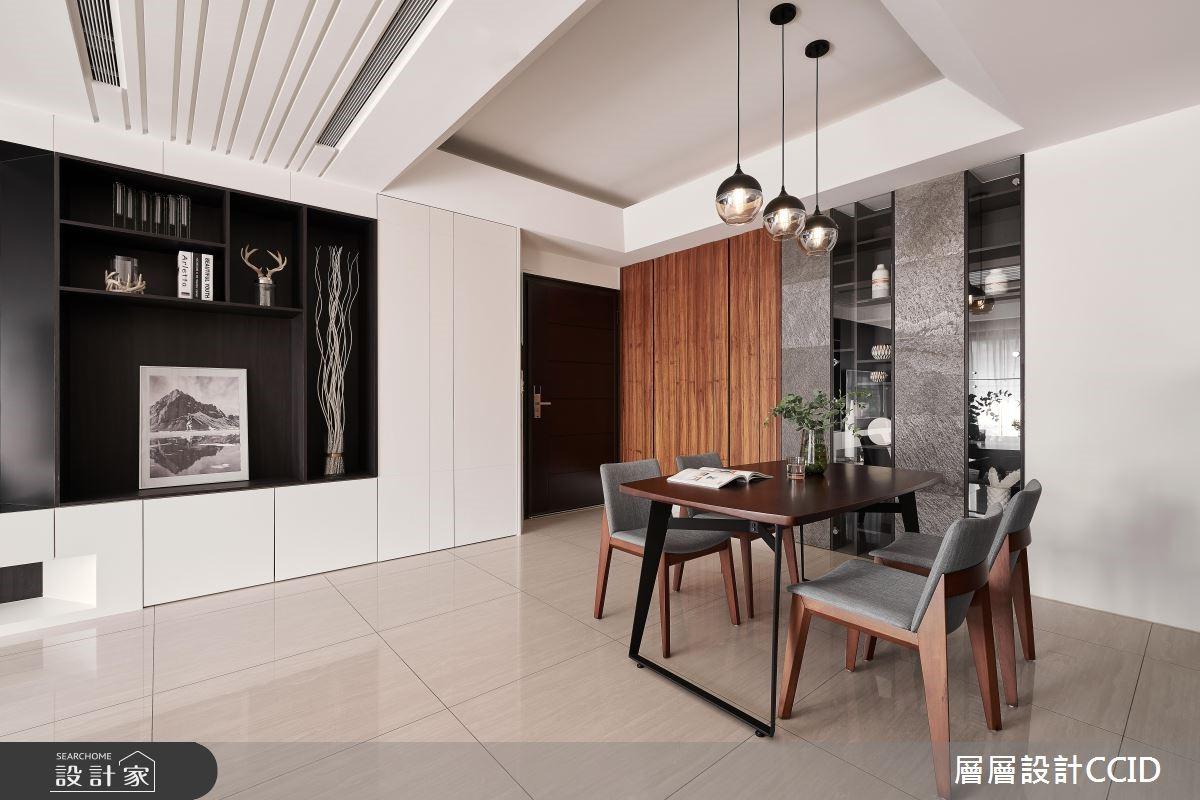 60坪新成屋(5年以下)_現代風餐廳案例圖片_層層室內裝修設計有限公司_層層_10之1
