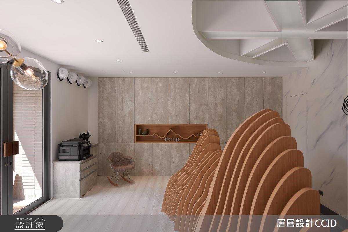 25坪新成屋(5年以下)_現代風商業空間案例圖片_層層室內裝修設計有限公司_層層_11之4