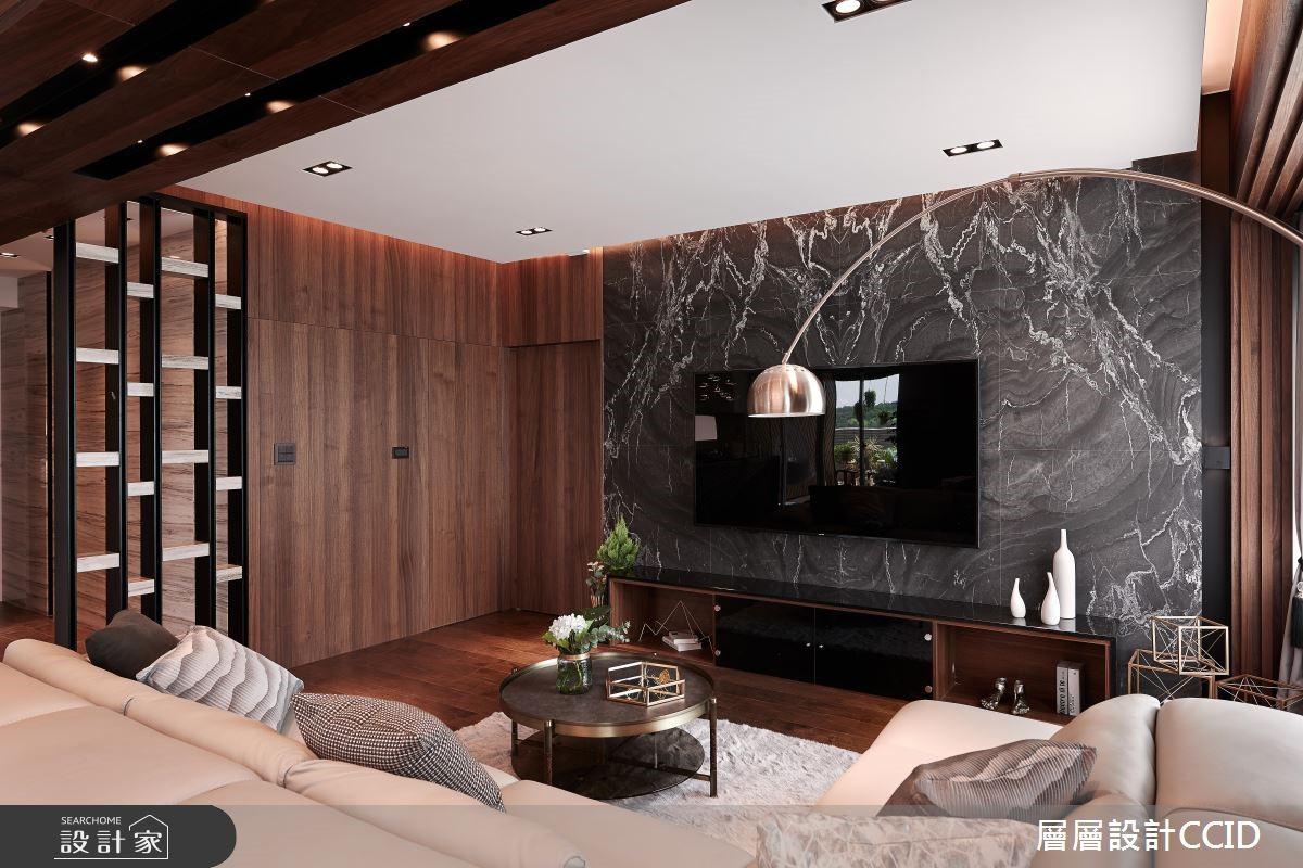 60坪新成屋(5年以下)_現代風客廳案例圖片_層層室內裝修設計有限公司_層層_12之5