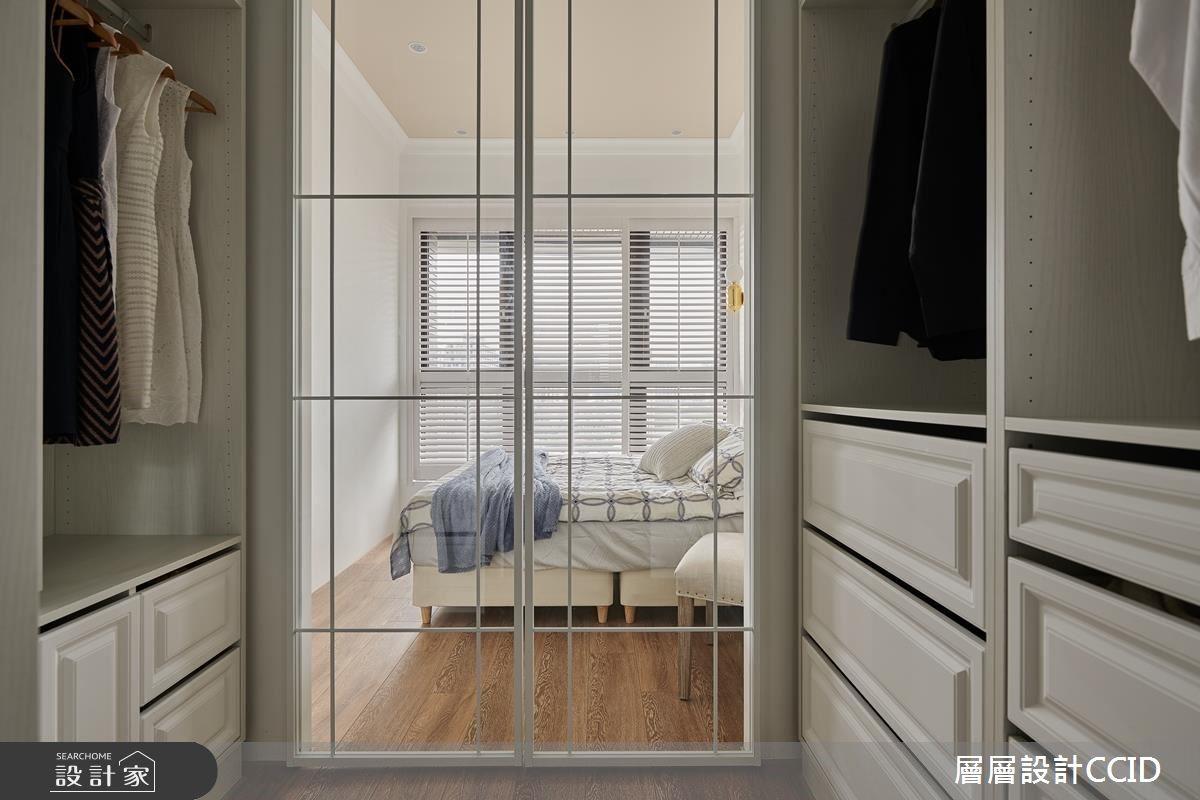 25坪新成屋(5年以下)_混搭風臥室更衣間案例圖片_層層室內裝修設計有限公司_層層_16之20