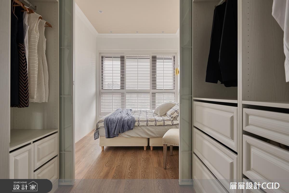 25坪新成屋(5年以下)_混搭風臥室更衣間案例圖片_層層室內裝修設計有限公司_層層_16之21