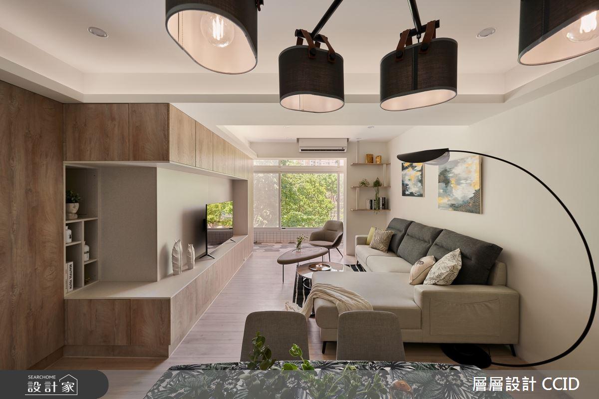 38坪老屋(16~30年)_北歐風客廳案例圖片_層層室內裝修設計有限公司_層層_19之6