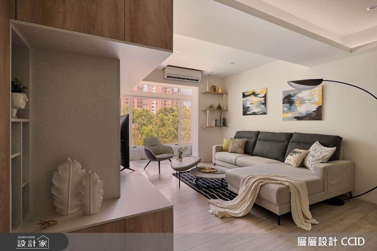 38坪老屋(16~30年)_北歐風客廳案例圖片_層層室內裝修設計有限公司_層層_19之8