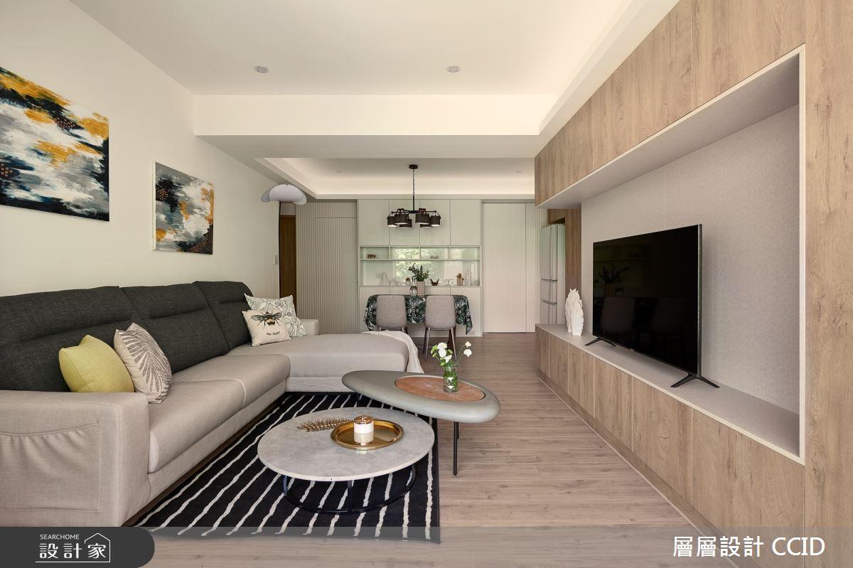 38坪老屋(16~30年)_北歐風客廳案例圖片_層層室內裝修設計有限公司_層層_19之2
