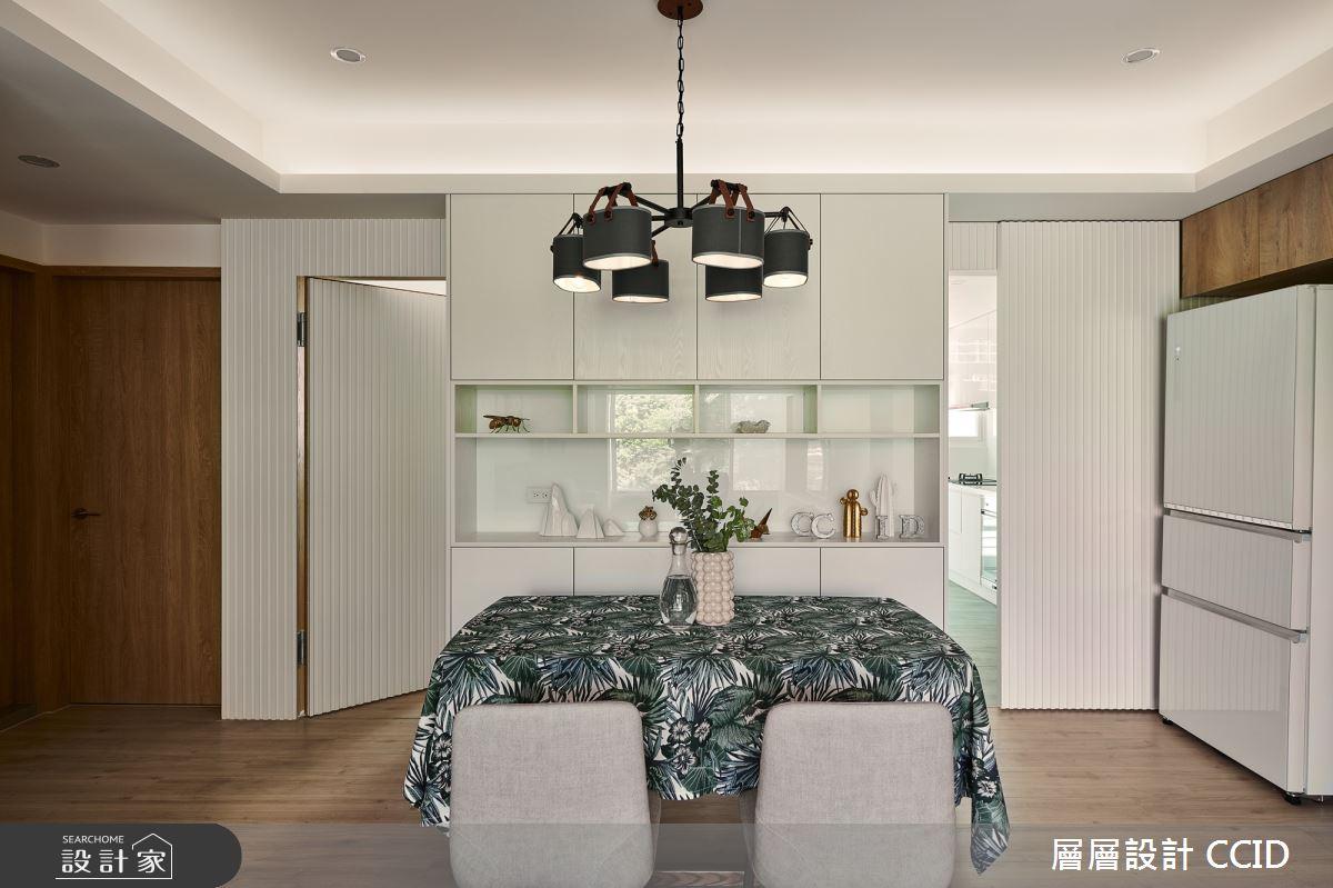 38坪老屋(16~30年)_北歐風餐廳案例圖片_層層室內裝修設計有限公司_層層_19之12