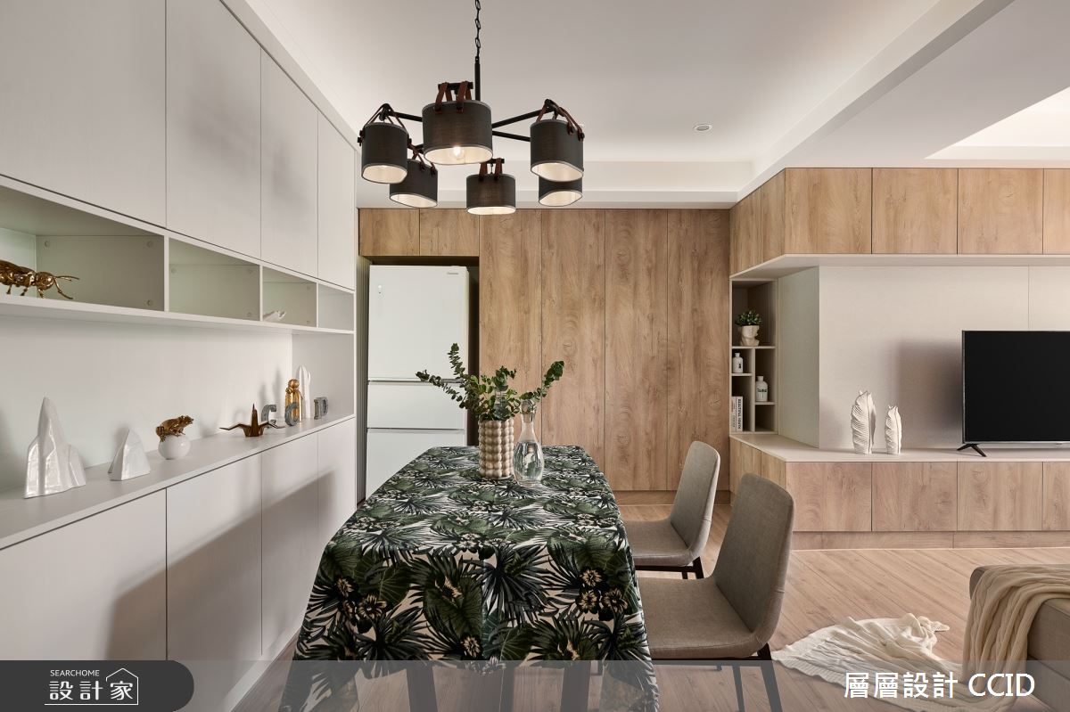 38坪老屋(16~30年)_北歐風餐廳案例圖片_層層室內裝修設計有限公司_層層_19之10