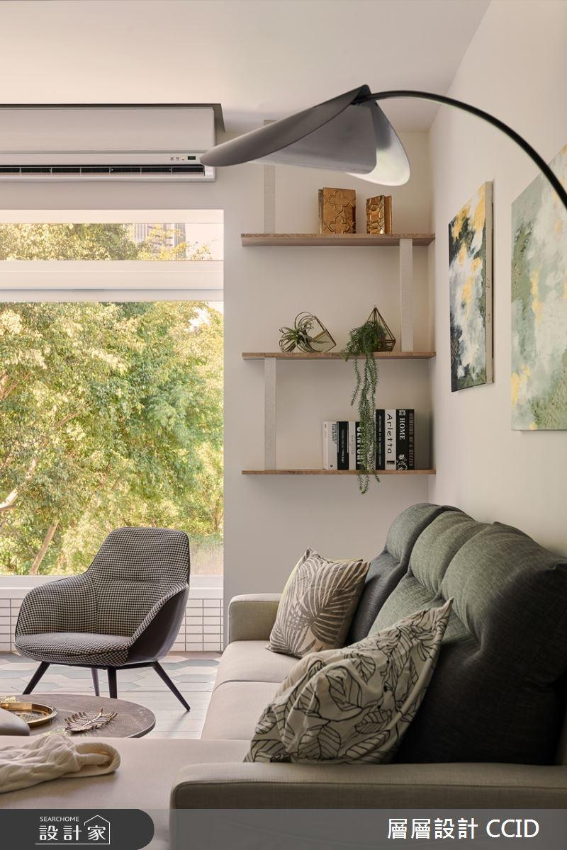 38坪老屋(16~30年)_北歐風客廳案例圖片_層層室內裝修設計有限公司_層層_19之9