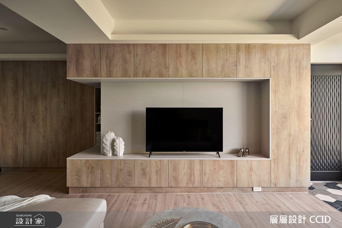 38坪老屋(16~30年)_北歐風客廳案例圖片_層層室內裝修設計有限公司_層層_19之4