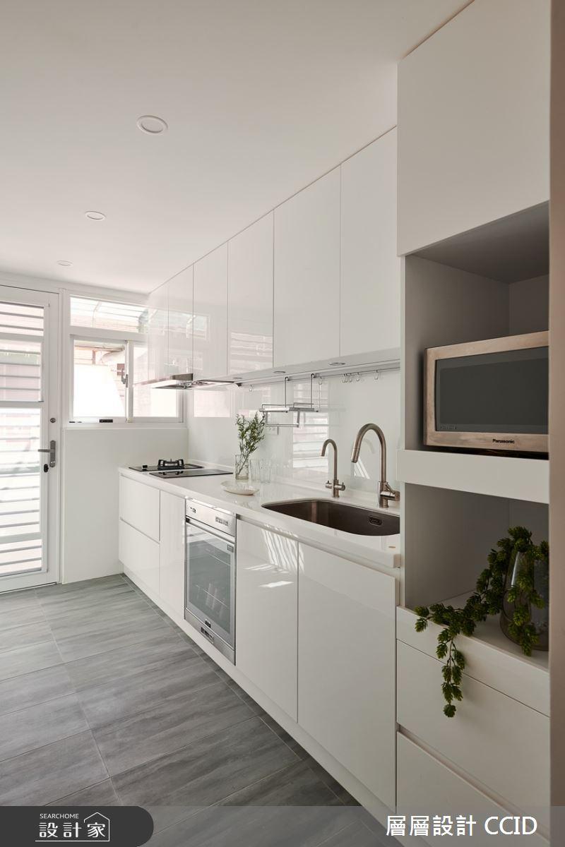 38坪老屋(16~30年)_北歐風廚房案例圖片_層層室內裝修設計有限公司_層層_19之14