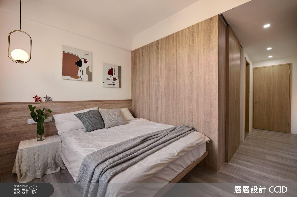 38坪老屋(16~30年)_北歐風臥室案例圖片_層層室內裝修設計有限公司_層層_19之15