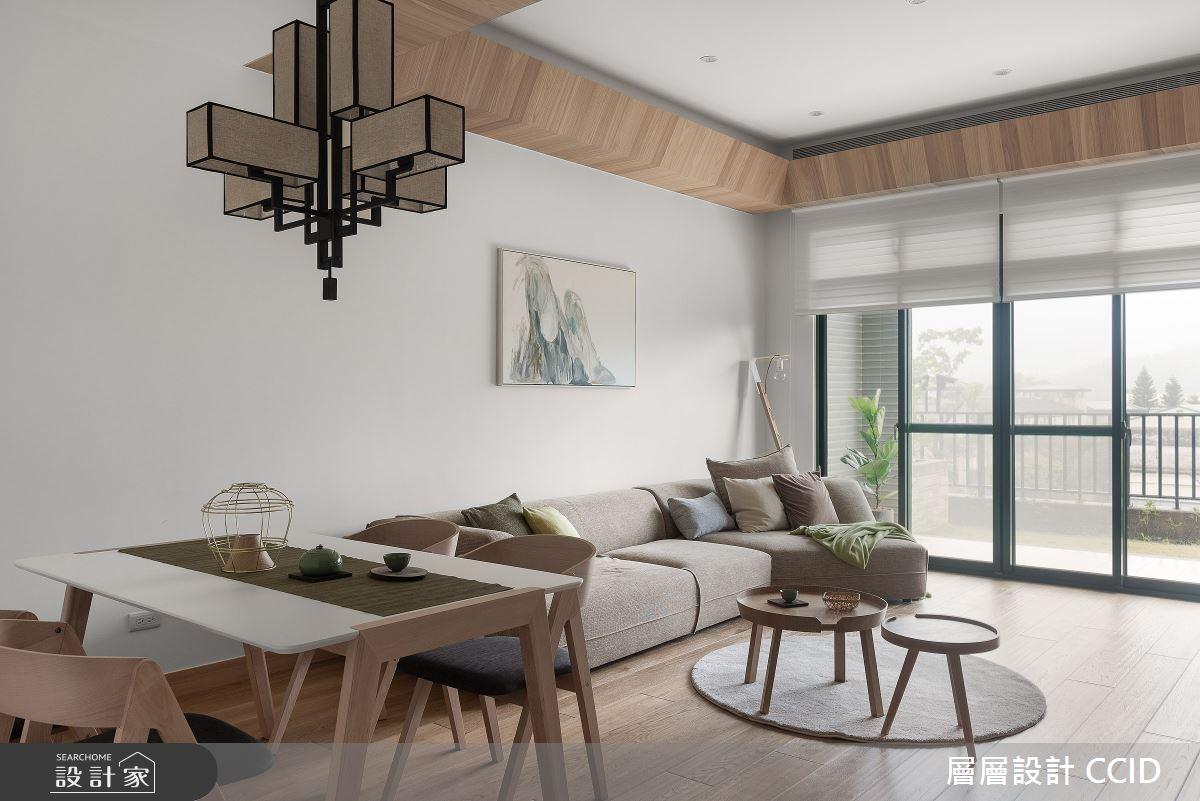 45坪新成屋(5年以下)_人文禪風餐廳案例圖片_層層室內裝修設計有限公司_層層_20之16