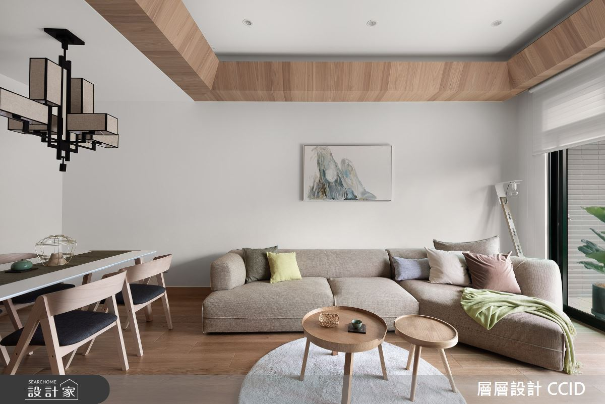 45坪新成屋(5年以下)_人文禪風客廳案例圖片_層層室內裝修設計有限公司_層層_20之14