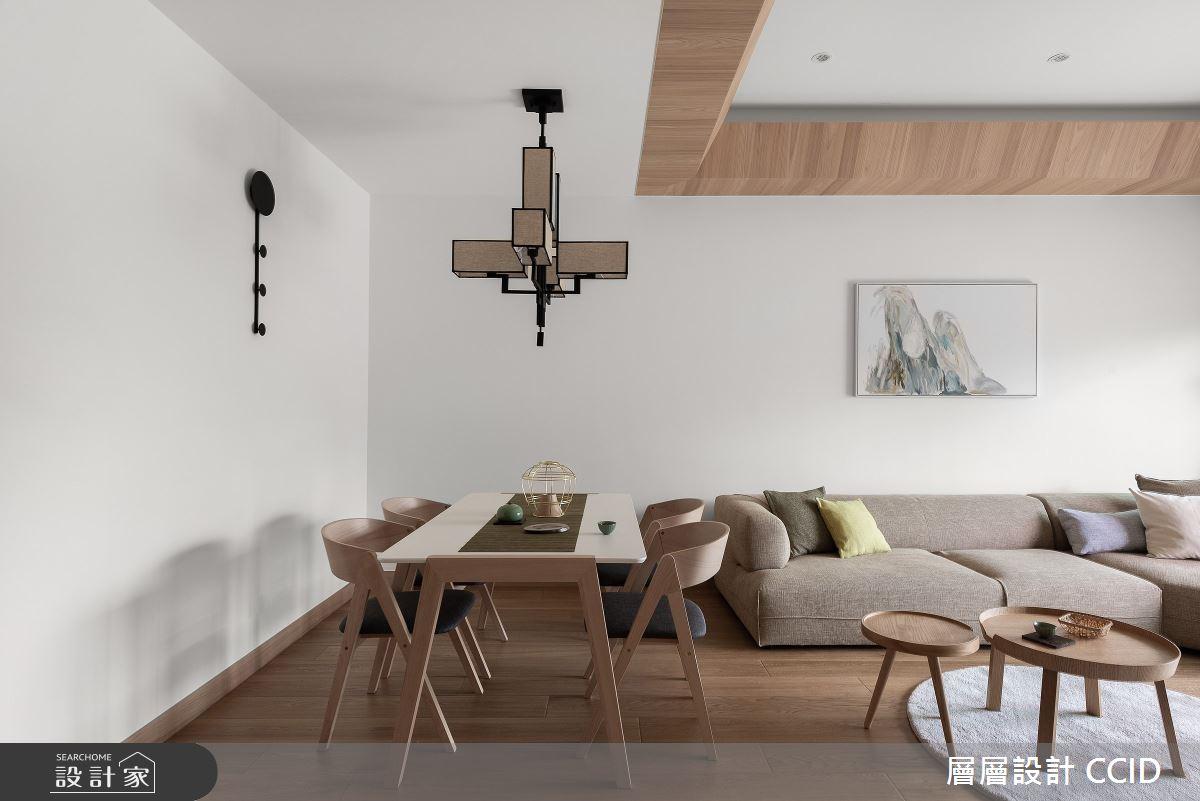 45坪新成屋(5年以下)_人文禪風客廳餐廳案例圖片_層層室內裝修設計有限公司_層層_20之15