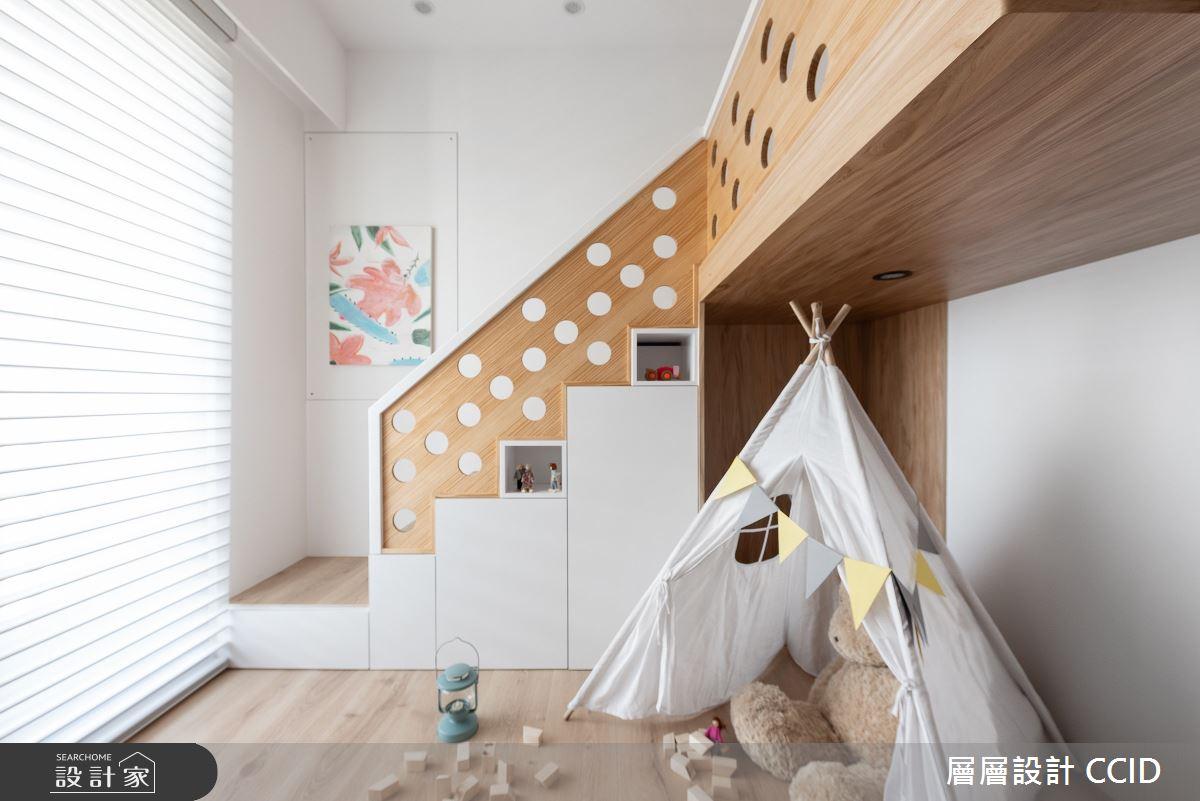 40坪新成屋(5年以下)_北歐風兒童房兒童房案例圖片_層層室內裝修設計有限公司_層層_22之21