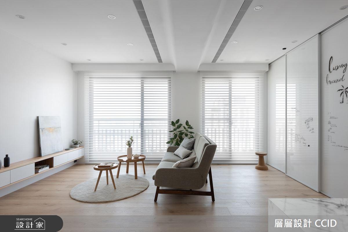 40坪新成屋(5年以下)_北歐風客廳案例圖片_層層室內裝修設計有限公司_層層_22之2