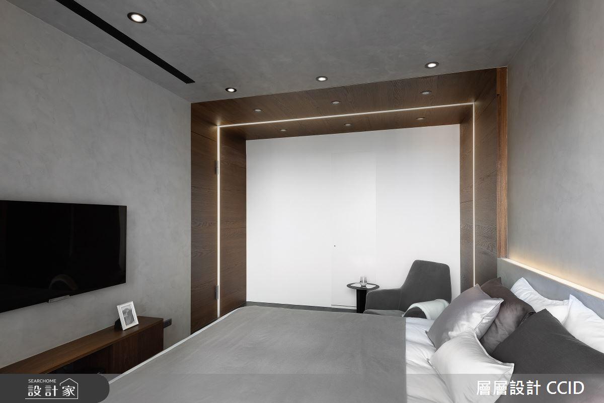 40坪新成屋(5年以下)_北歐風臥室案例圖片_層層室內裝修設計有限公司_層層_22之17