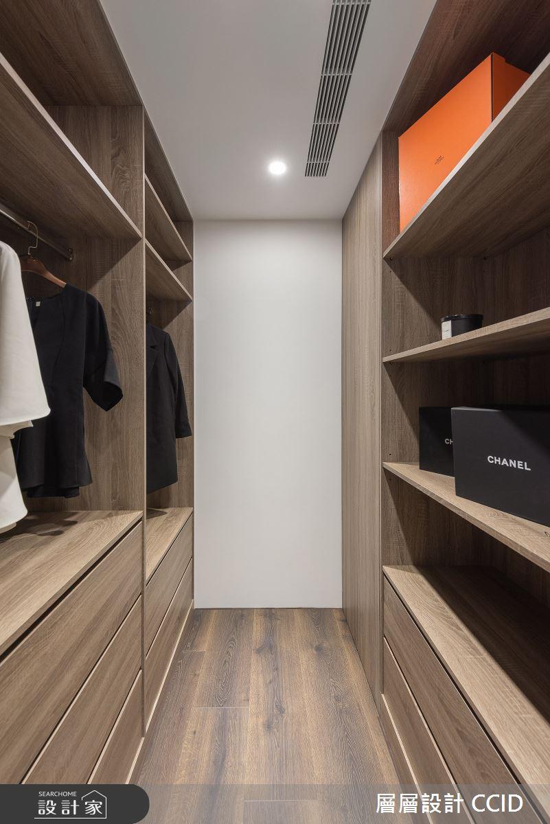 40坪新成屋(5年以下)_北歐風更衣間案例圖片_層層室內裝修設計有限公司_層層_22之19