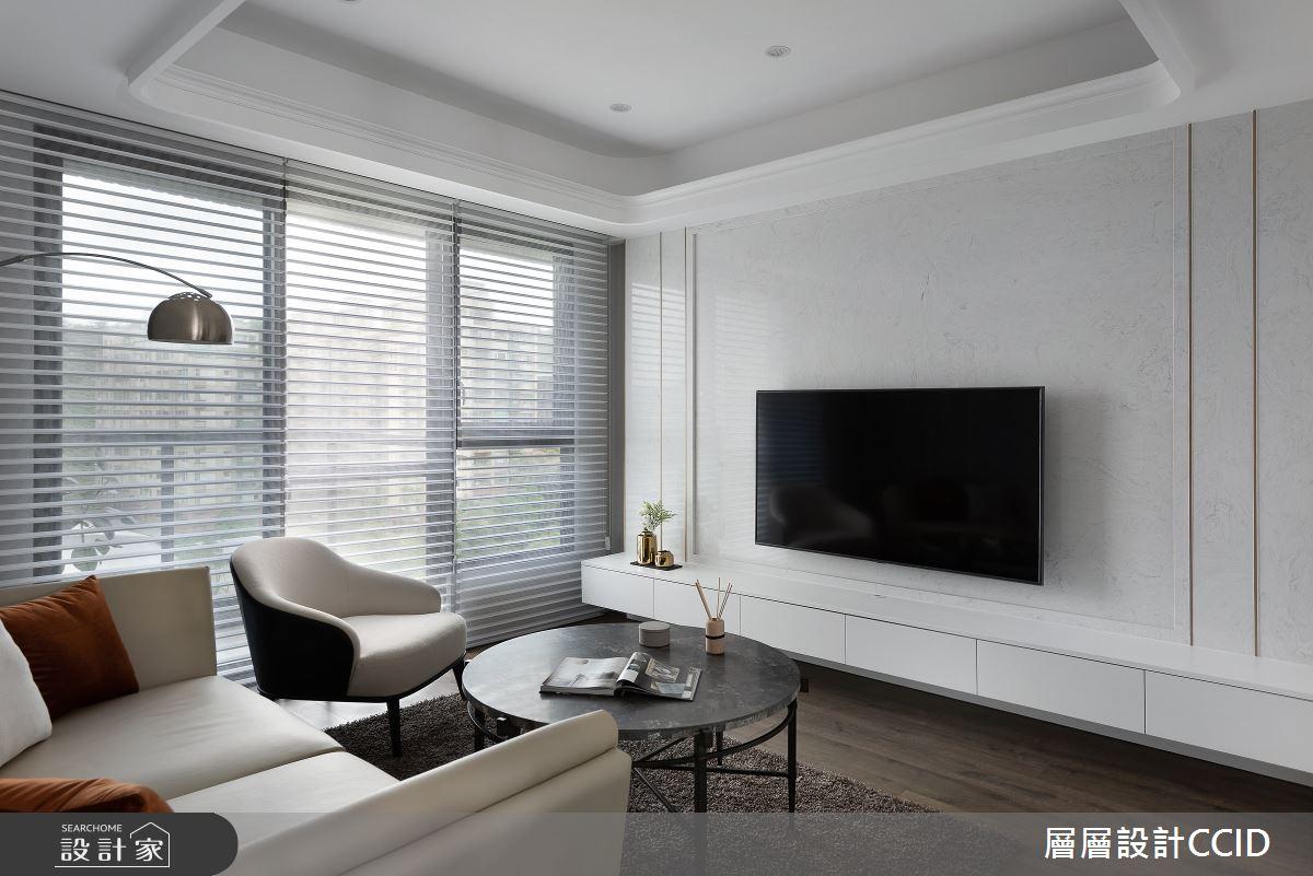 55坪新成屋(5年以下)_混搭風客廳案例圖片_層層室內裝修設計有限公司_層層_23之4