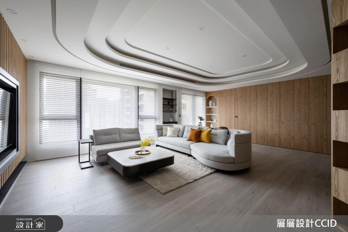 125坪新成屋(5年以下)_人文禪風客廳案例圖片_層層室內裝修設計有限公司_層層_27之3