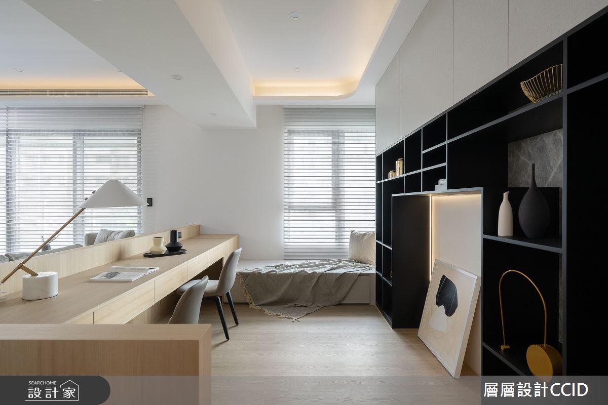 83坪新成屋(5年以下)_混搭風書房案例圖片_層層室內裝修設計有限公司_層層_28之7