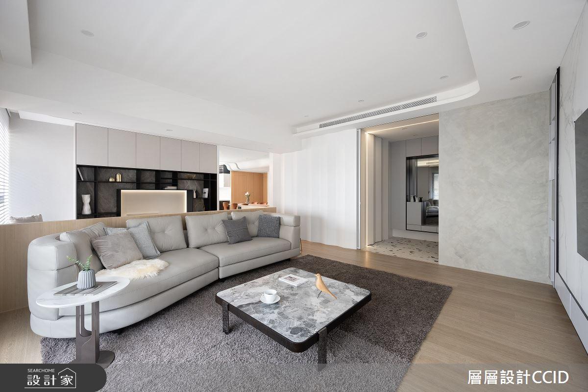 83坪新成屋(5年以下)_混搭風客廳案例圖片_層層室內裝修設計有限公司_層層_28之6