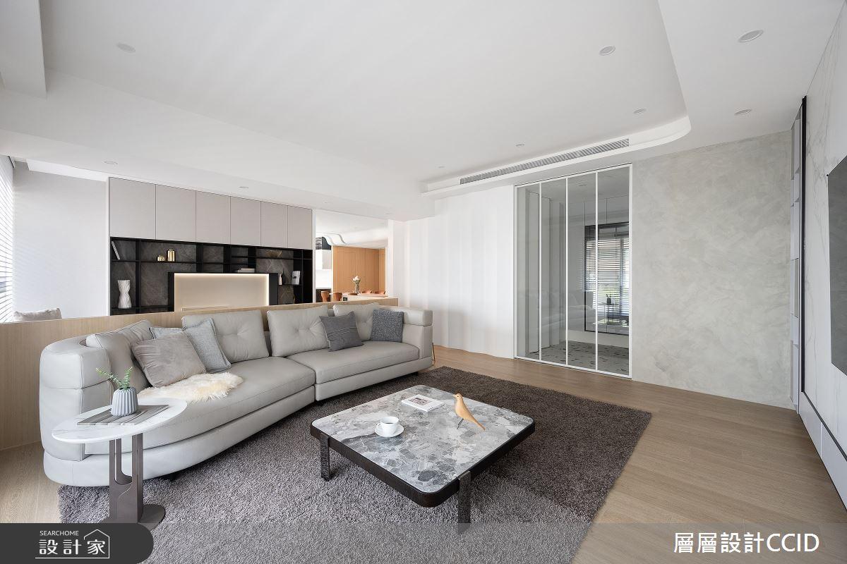 83坪新成屋(5年以下)_混搭風客廳案例圖片_層層室內裝修設計有限公司_層層_28之5