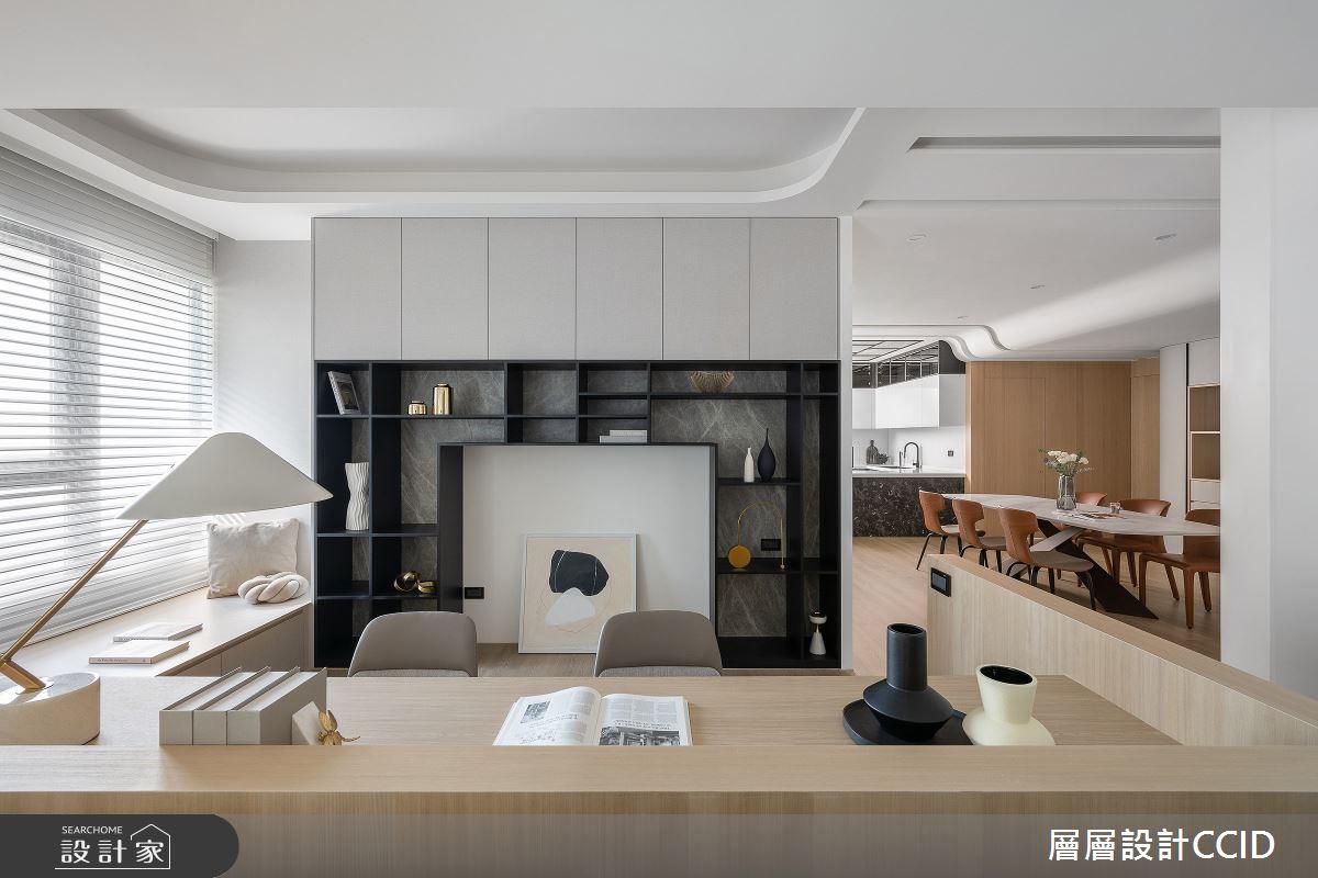 83坪新成屋(5年以下)_混搭風書房案例圖片_層層室內裝修設計有限公司_層層_28之10