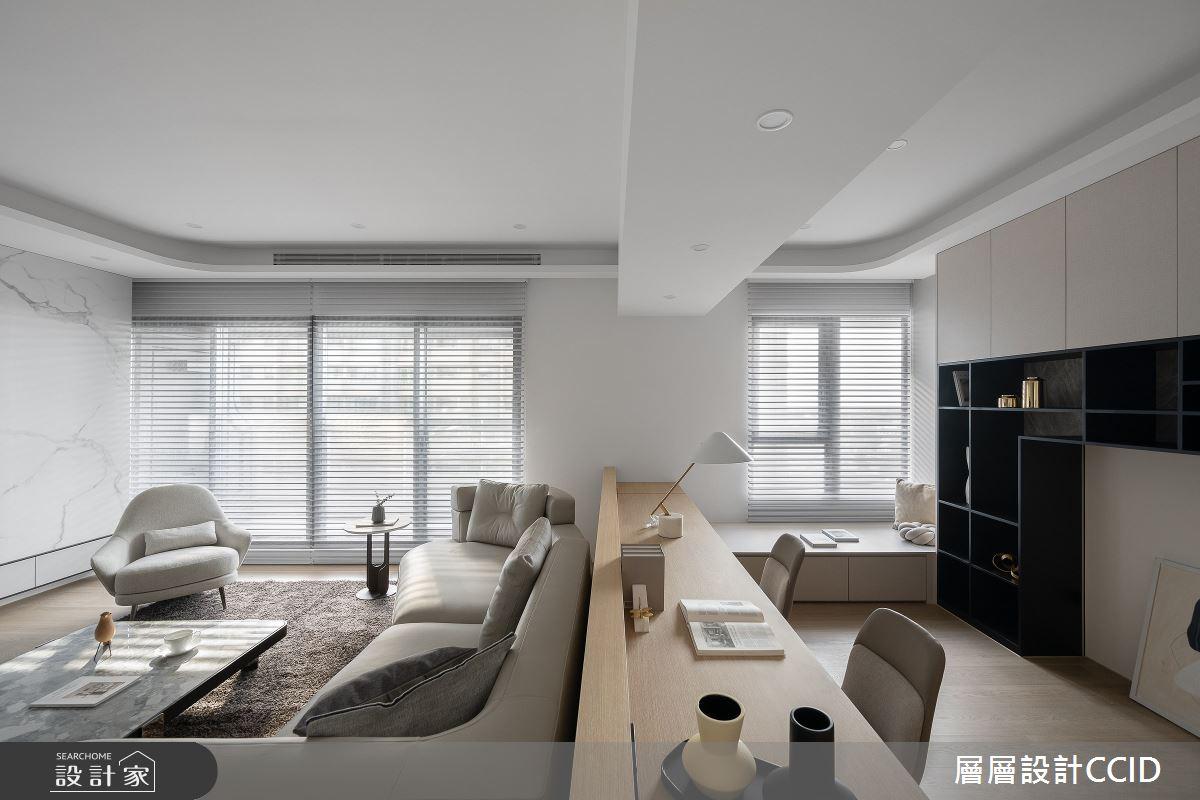 83坪新成屋(5年以下)_混搭風客廳書房案例圖片_層層室內裝修設計有限公司_層層_28之8