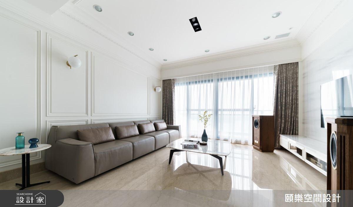 50坪老屋(16~30年)_美式風客廳案例圖片_頤樂空間設計有限公司_頤樂_04之2