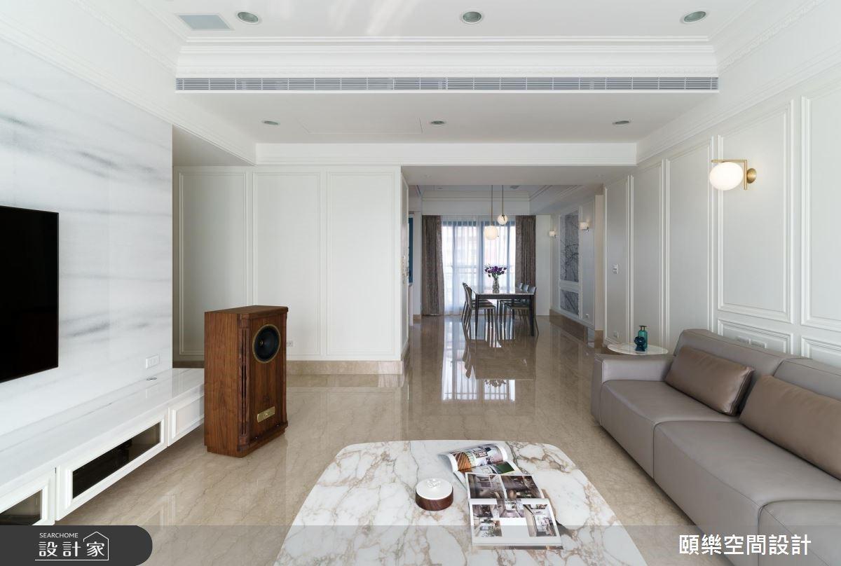 50坪老屋(16~30年)_美式風客廳案例圖片_頤樂空間設計有限公司_頤樂_04之5