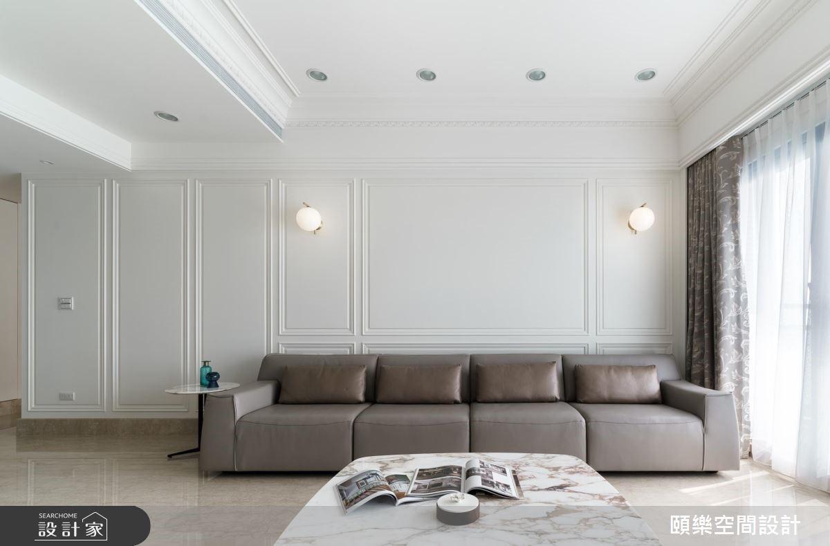50坪老屋(16~30年)_美式風客廳案例圖片_頤樂空間設計有限公司_頤樂_04之3