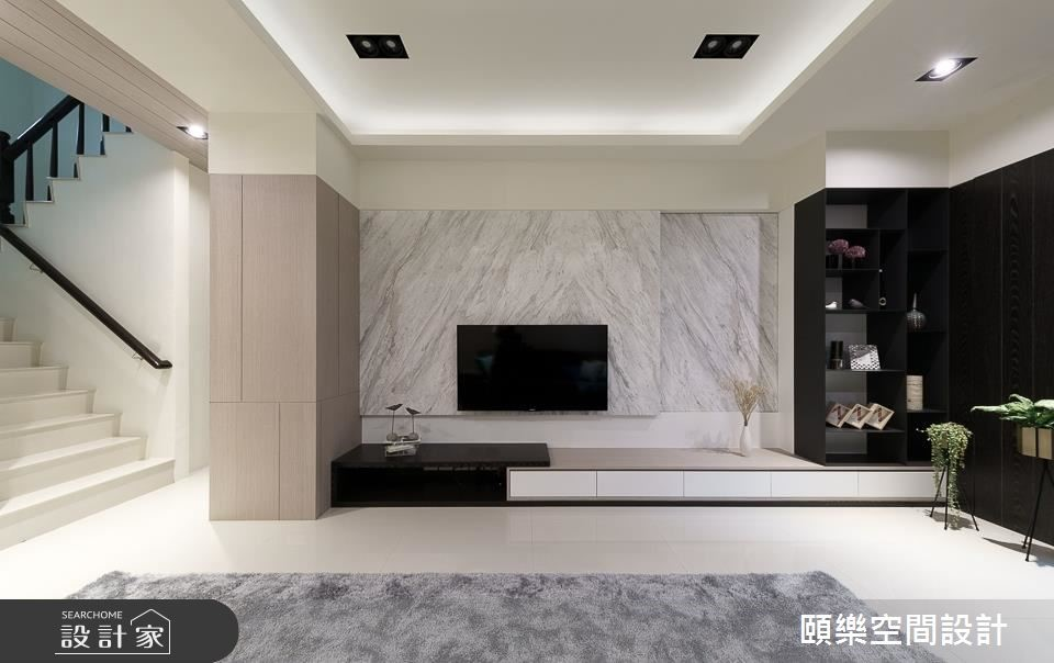60坪新成屋(5年以下)_現代風客廳案例圖片_頤樂空間設計有限公司_頤樂_06之3