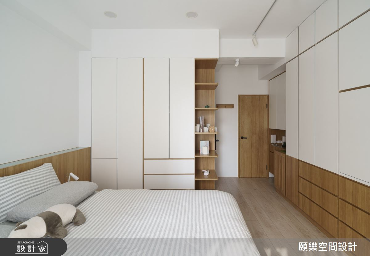49坪預售屋_日式無印風臥室案例圖片_頤樂空間設計有限公司_頤樂_08之16