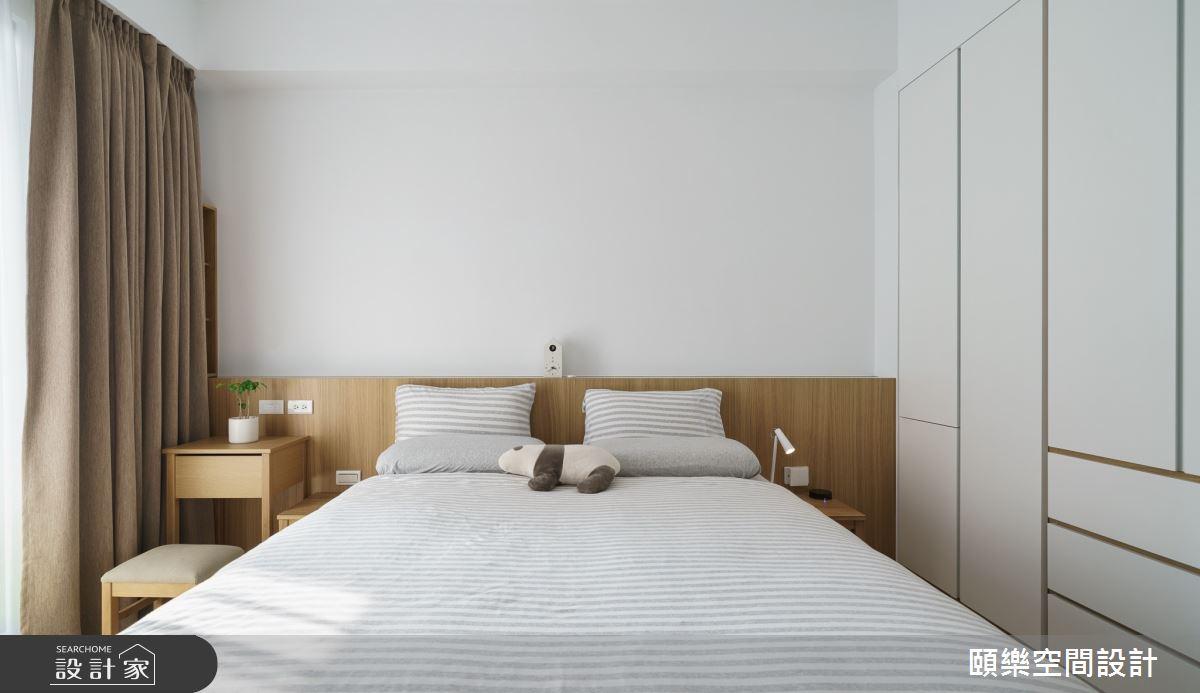 49坪預售屋_日式無印風臥室案例圖片_頤樂空間設計有限公司_頤樂_08之17