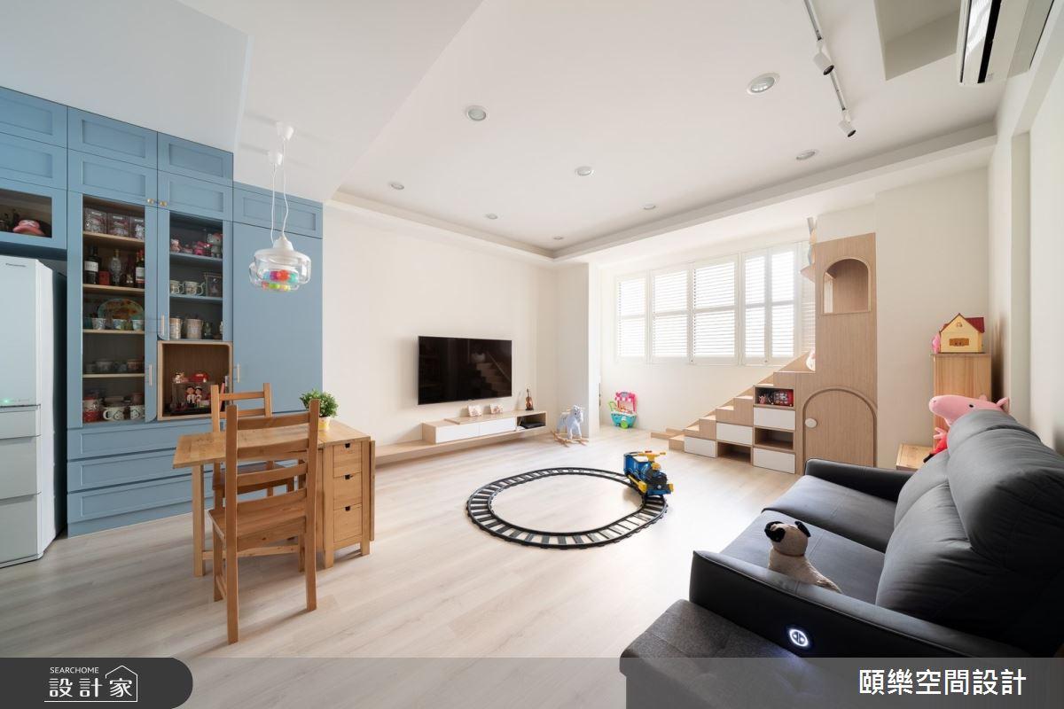 30坪中古屋(5~15年)_北歐風客廳案例圖片_頤樂空間設計有限公司_頤樂_09之2