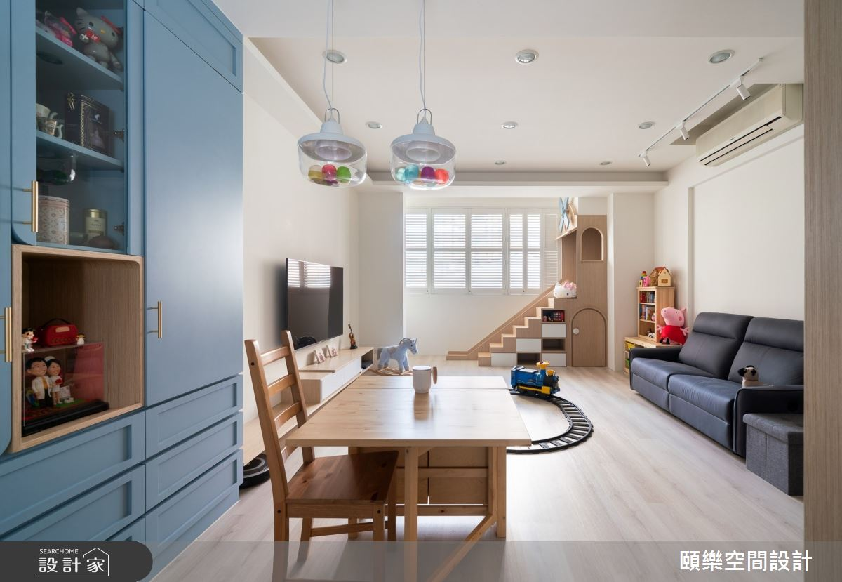30坪中古屋(5~15年)_北歐風餐廳案例圖片_頤樂空間設計有限公司_頤樂_09之1