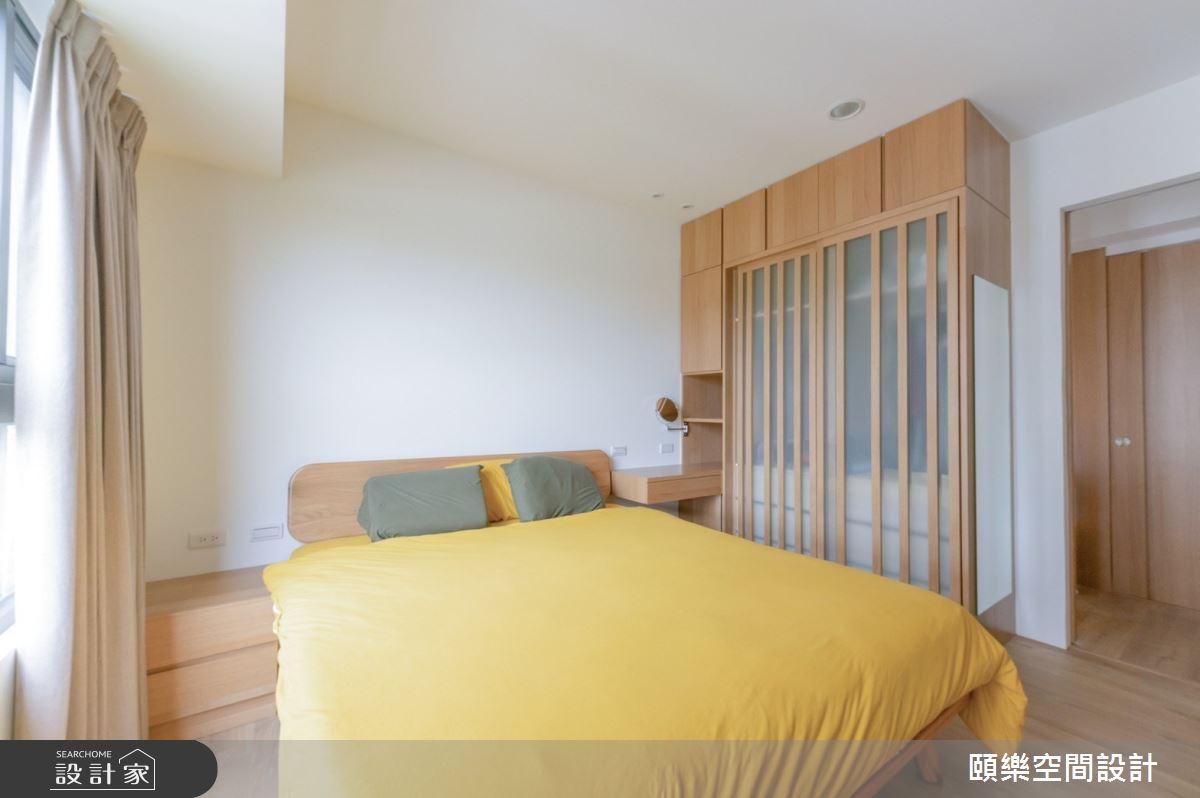 20坪預售屋_日式無印風臥室案例圖片_頤樂空間設計有限公司_頤樂_10之14