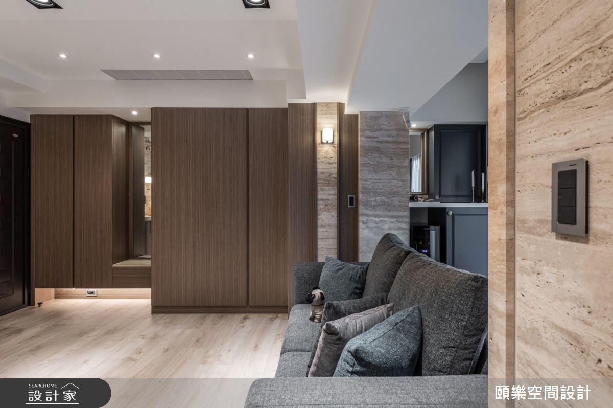 15坪新成屋(5年以下)_美式風客廳案例圖片_頤樂空間設計有限公司_頤樂_13之3