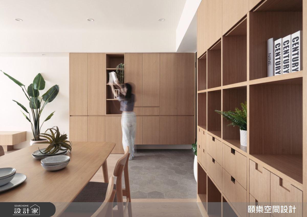 27坪新成屋(5年以下)_日式無印風餐廳案例圖片_頤樂空間設計有限公司_頤樂_14之6