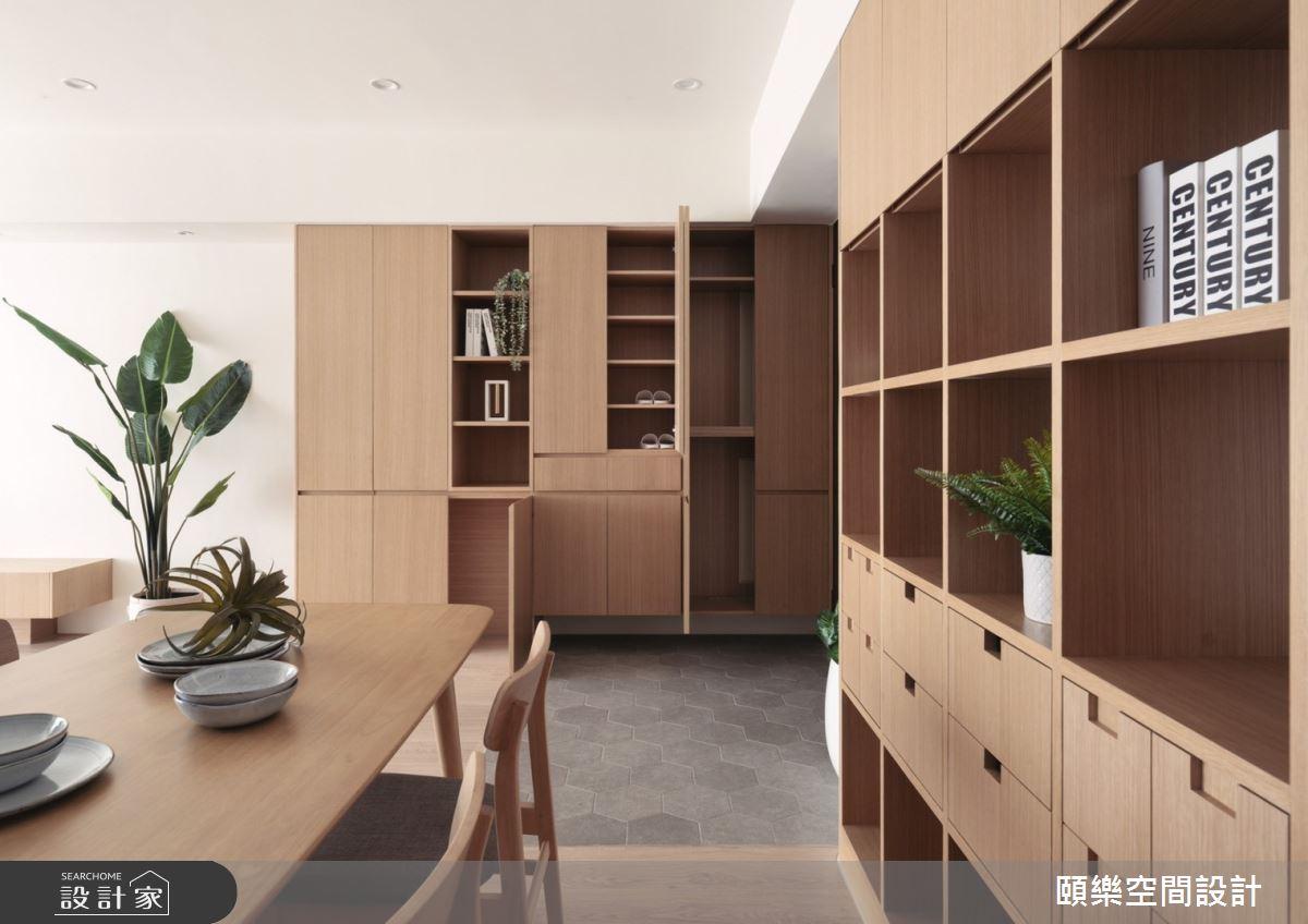 27坪新成屋(5年以下)_日式無印風餐廳案例圖片_頤樂空間設計有限公司_頤樂_14之7