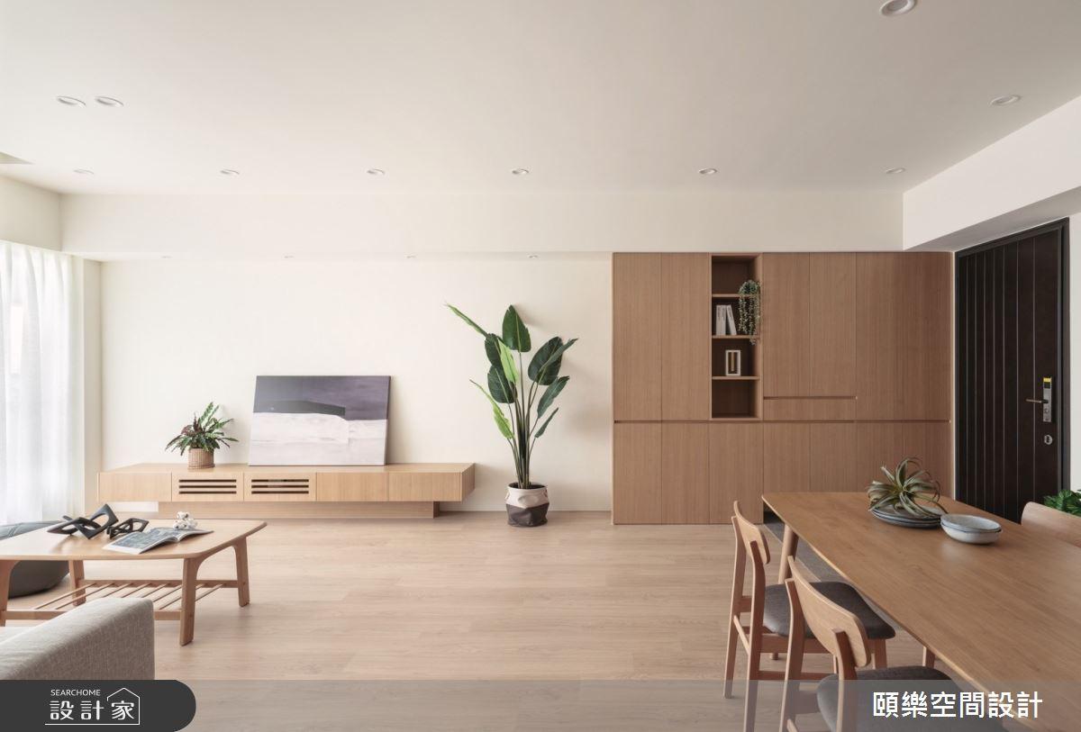 27坪新成屋(5年以下)_日式無印風餐廳案例圖片_頤樂空間設計有限公司_頤樂_14之8