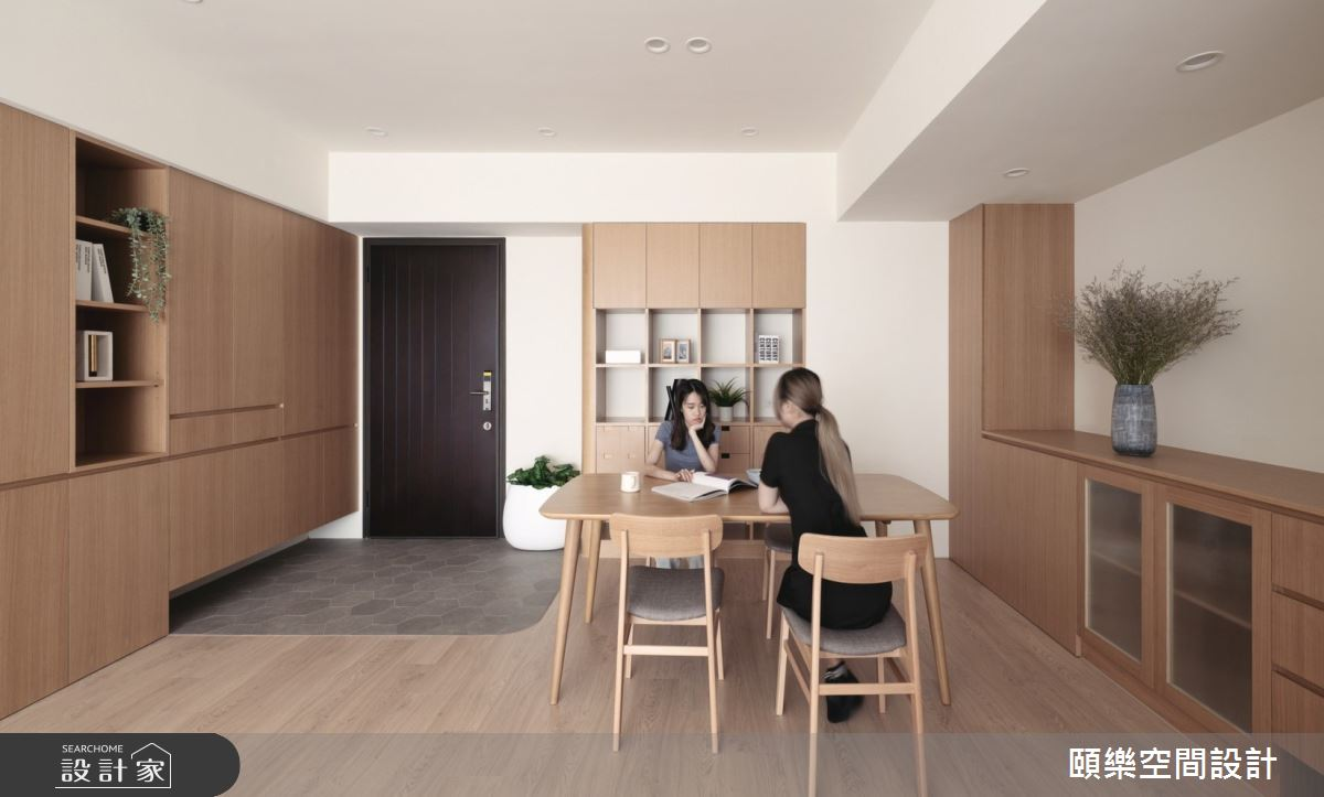27坪新成屋(5年以下)_日式無印風餐廳案例圖片_頤樂空間設計有限公司_頤樂_14之10
