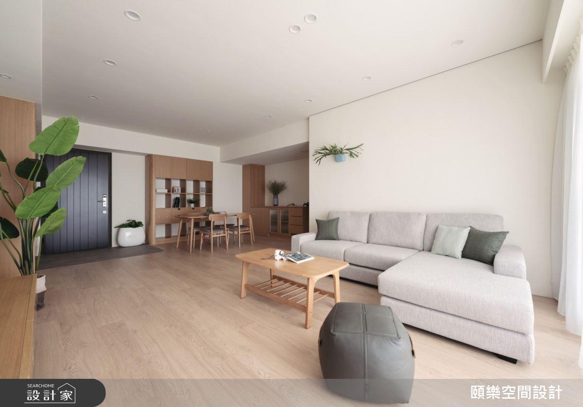 27坪新成屋(5年以下)_日式無印風客廳案例圖片_頤樂空間設計有限公司_頤樂_14之12