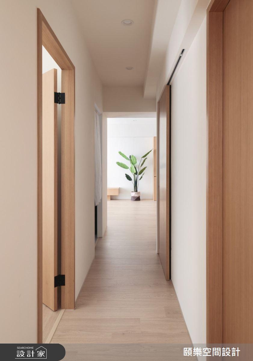 27坪新成屋(5年以下)_日式無印風走廊案例圖片_頤樂空間設計有限公司_頤樂_14之14