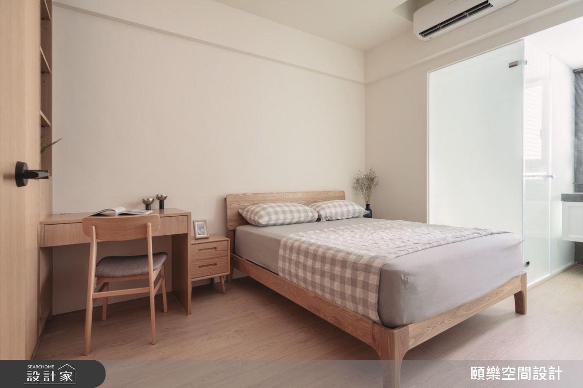 27坪新成屋(5年以下)_日式無印風臥室案例圖片_頤樂空間設計有限公司_頤樂_14之15