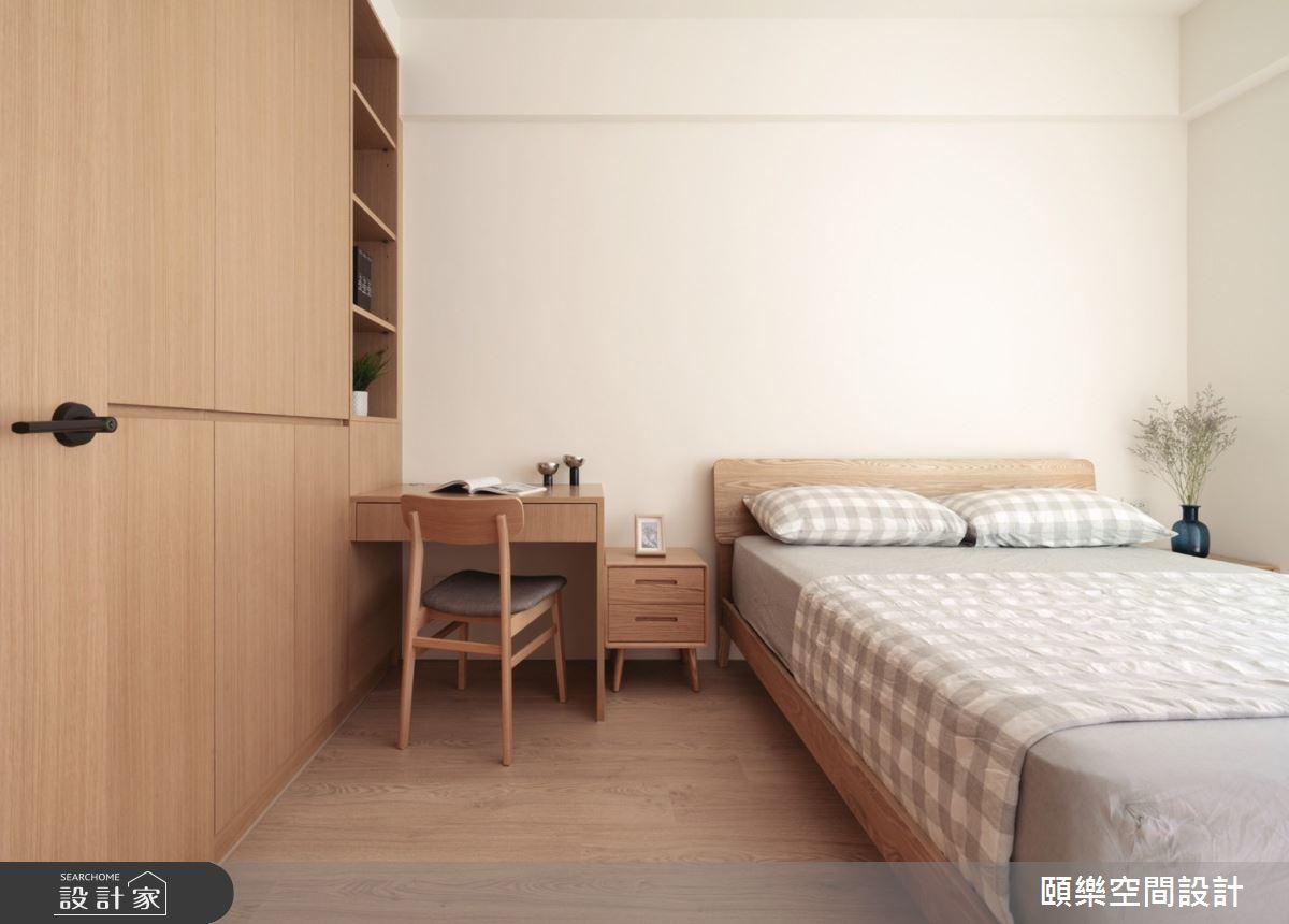 27坪新成屋(5年以下)_日式無印風臥室案例圖片_頤樂空間設計有限公司_頤樂_14之16