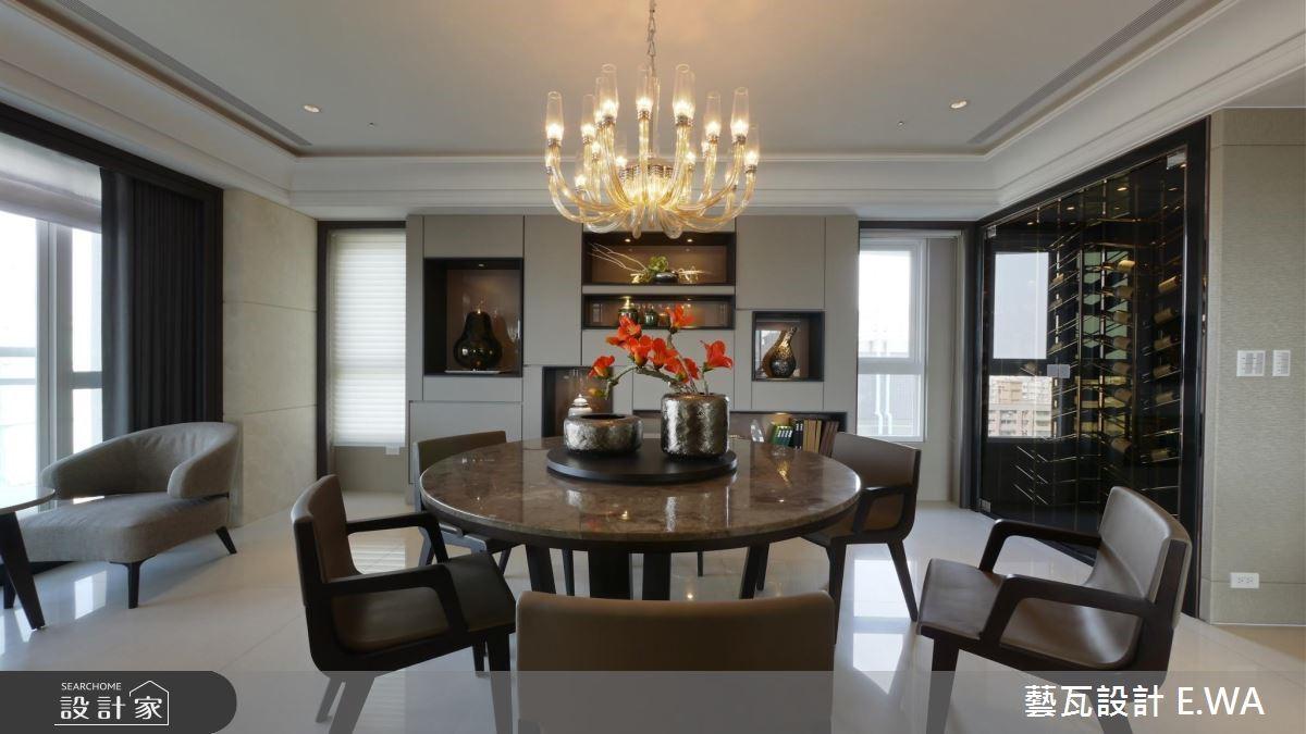 137坪新成屋(5年以下)_現代風餐廳案例圖片_藝瓦室內設計_藝瓦_03之16